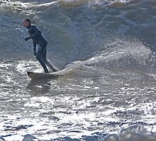 Surfing the Gales by Sandra Caven