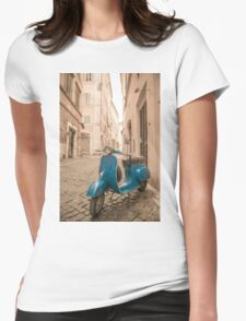 Vespa Womens Fitted T-Shirt