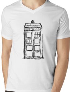 Doctor Mens V-Neck T-Shirt