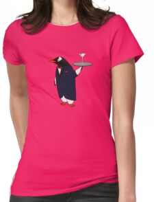 Penguin Butler Womens Fitted T-Shirt