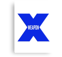 Weapon X Canvas Print