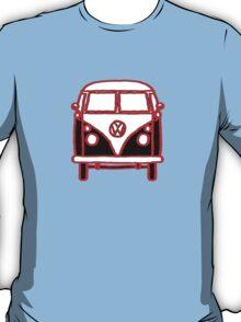 Graphic Splittie Campervan T-Shirt