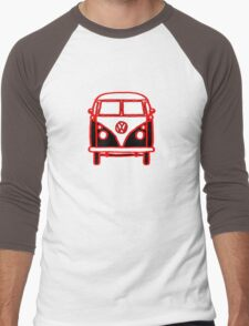 Graphic Splittie Campervan Men's Baseball ¾ T-Shirt