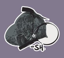 Sherlock Holmes paraphernalia Kids Tee