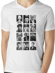 Doctor Who? Mens V-Neck T-Shirt