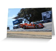Porsche 962 Corkscrew Greeting Card
