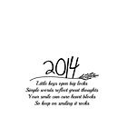 2014 A New Year Quote by Nicola  Pearson