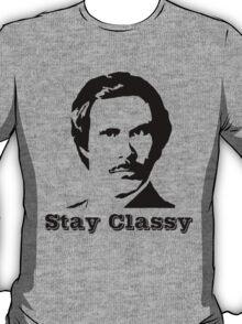 Anchorman - Ron Burgundy Stay classy T-Shirt