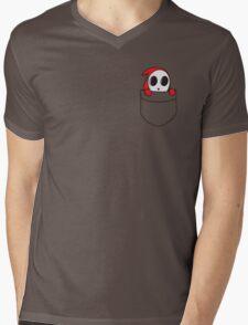 Shy little guy. Mens V-Neck T-Shirt