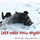 Playing in the Snow by Donna Anglin Husband