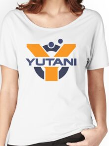 Yutani Corporation (pre Weyland takeover) Women's Relaxed Fit T-Shirt