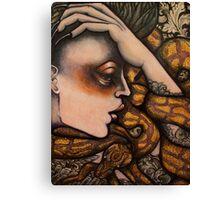serpens portentum Canvas Print
