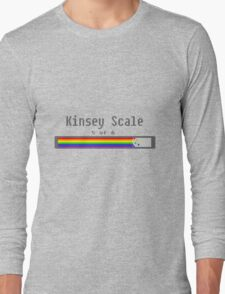 Kinsey Scale 5 Long Sleeve T-Shirt