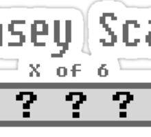 Kinsey Scale X Sticker
