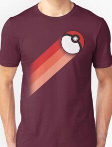 PokeBall Retro Stripes T-Shirt