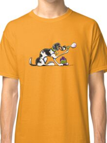 Foxhound Blowing Bubbles Classic T-Shirt