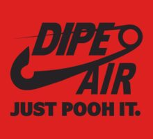 DIPE AIR - JUST POOH IT. One Piece - Long Sleeve