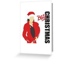 Bad Christmas Greeting Card