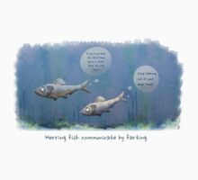 Arse Talking Herring Kids Clothes