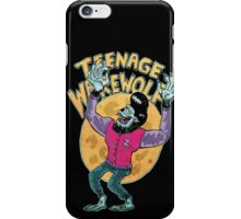 teenage werewolf iPhone Case/Skin