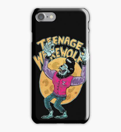 teenage werewolf iPhone Case/Skin