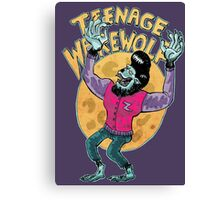 teenage werewolf Canvas Print