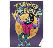 teenage werewolf Poster