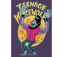 teenage werewolf Photographic Print