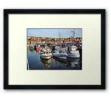 Rocking Boats. Framed Print