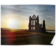 The Whitby Abbey Poster