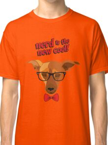 Hipster dog - Nerd is the new cool! Classic T-Shirt