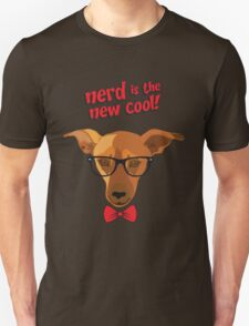 Hipster dog - Nerd is the new cool! T-Shirt