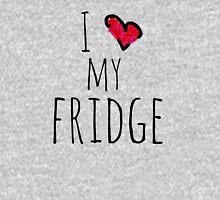 i heart my fridge Womens Fitted T-Shirt