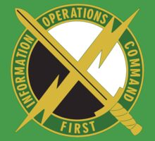 US Army First Information Operations Command Logo by cadellin