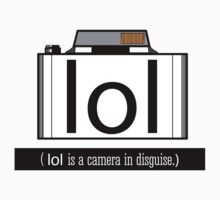 lol is a camera in disguise Baby Tee