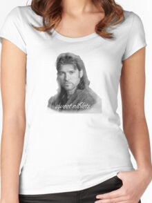 Billy Ray Cyrus Sweet Niblets  Women's Fitted Scoop T-Shirt