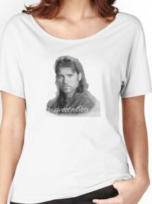 Billy Ray Cyrus Sweet Niblets  Women's Relaxed Fit T-Shirt