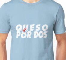 Queso Por Dos. Unisex T-Shirt