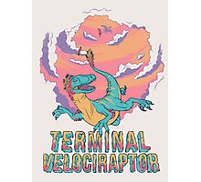 Terminal Velociraptor (Version 2) Photographic Print