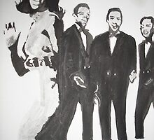 gladys Knight and the Pips by Colin  Laing