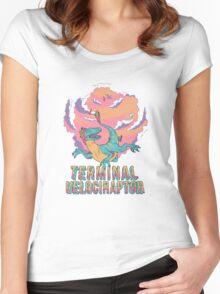 Terminal Velociraptor (Version 2) Women's Fitted Scoop T-Shirt