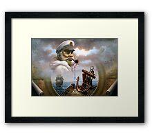 Sea Captain 7 Framed Print