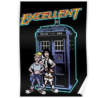 Bill and Ted Excellent Tardis Adventures  Poster