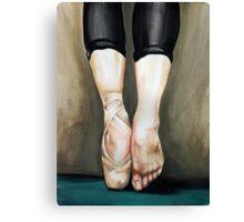 Ballet feet Canvas Print