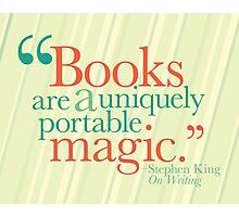 Books are Magic Photographic Print
