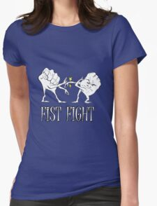 Fist Fight Womens Fitted T-Shirt