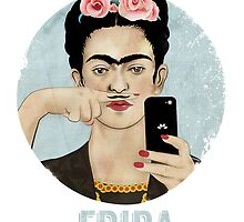 Frida Kahlo by Kitsche-Tee