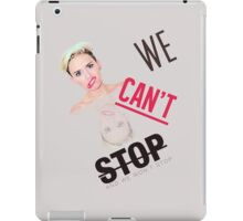 We can't stop iPad Case/Skin