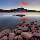 Last Light- Goldwater Lake by Bob Larson
