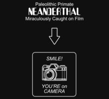 Neanderthal Caught on Film T-Shirt